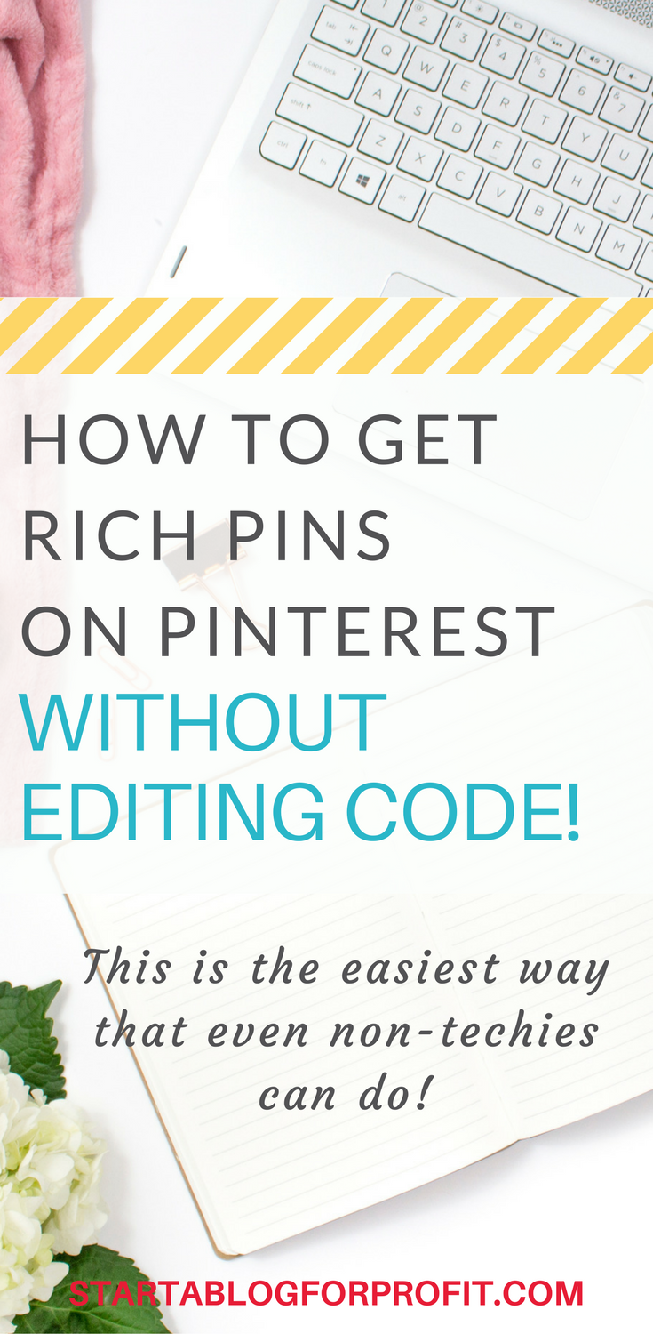 How to Get Rich Pins on Pinterest