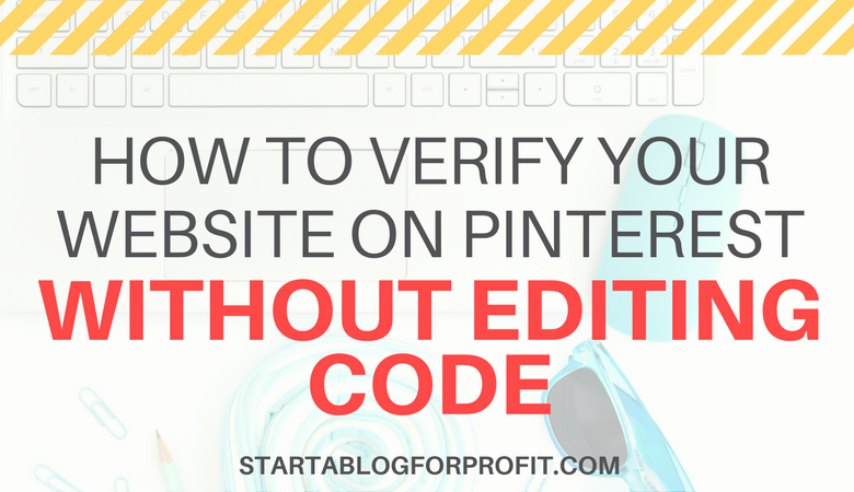 How to Verify a Website on Pinterest - featured image